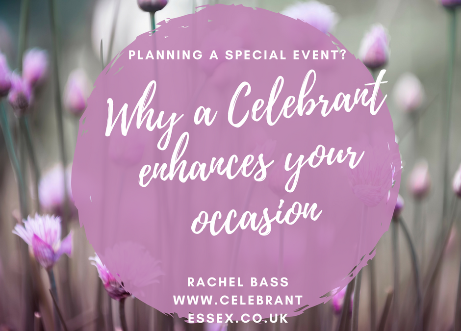 Why do you need a celebrant?
